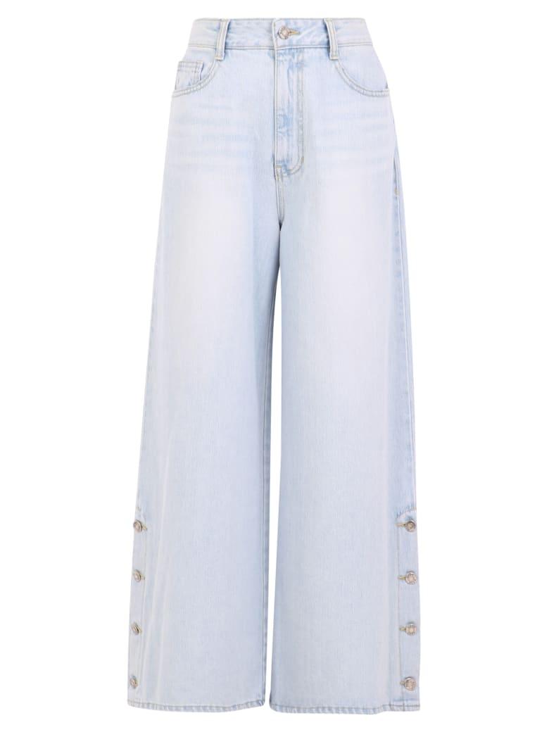 SJYP Cropped Jeans - Blue