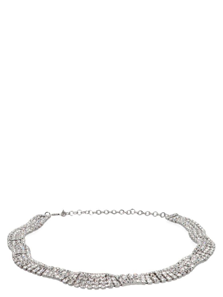 Alessandra Rich Belt - Silver