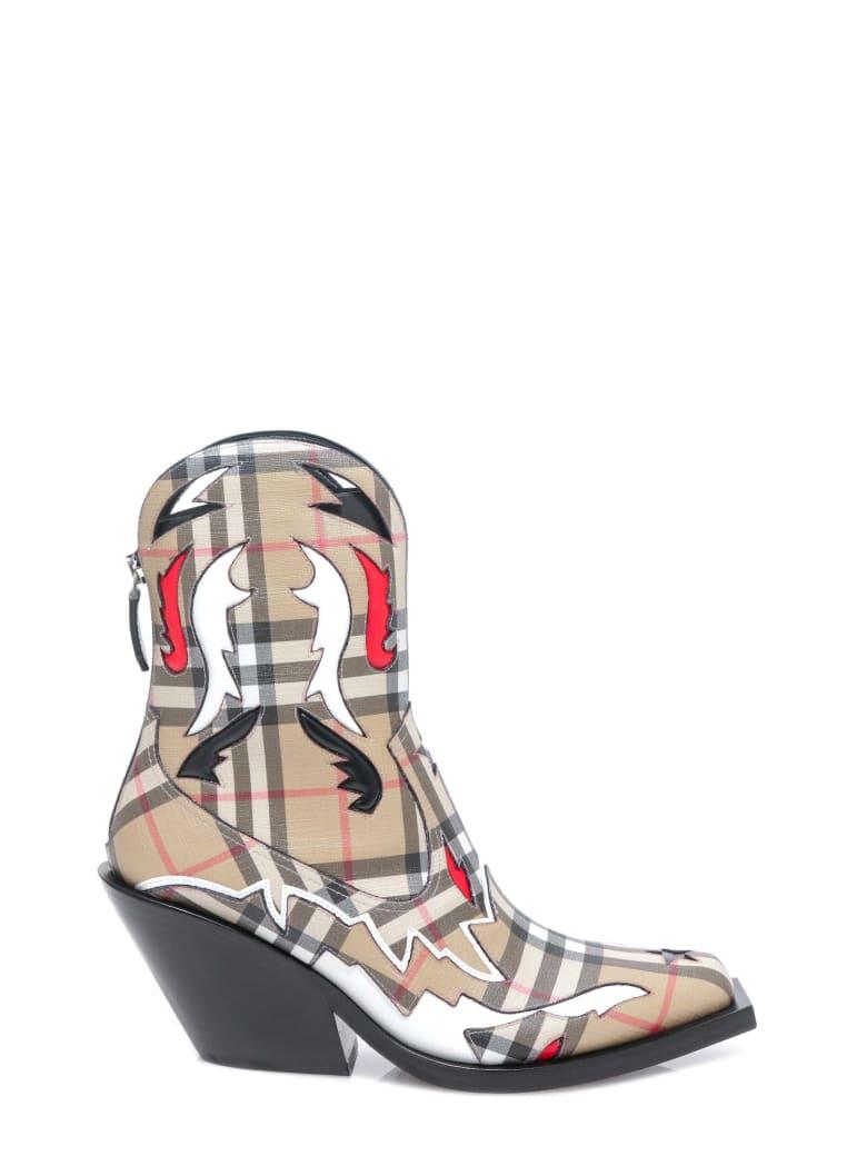 Burberry Matlock Boots - Beige