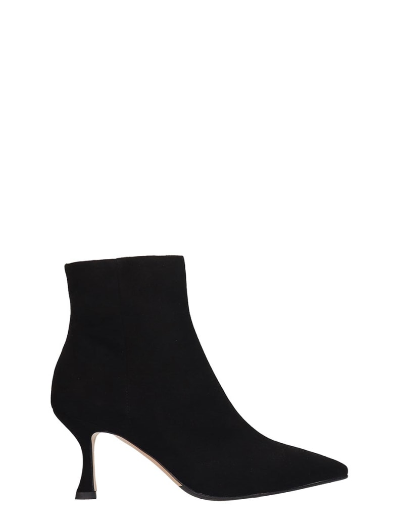 The Seller Ankle Boots In Black Suede - black