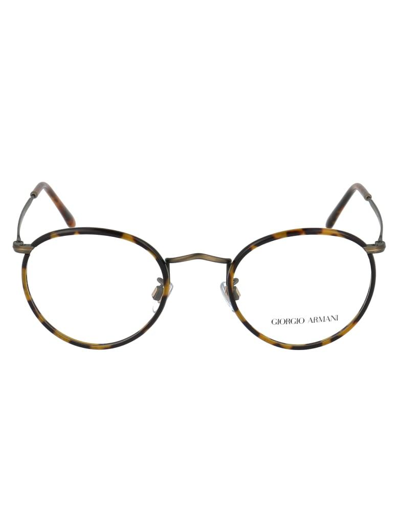 Giorgio Armani Sunglasses - Yellow Havana/brushed Gold