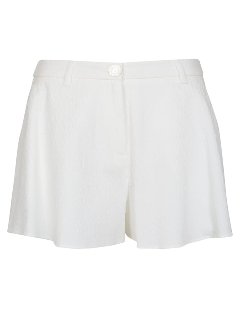 Boutique Moschino Buttoned Shorts - White