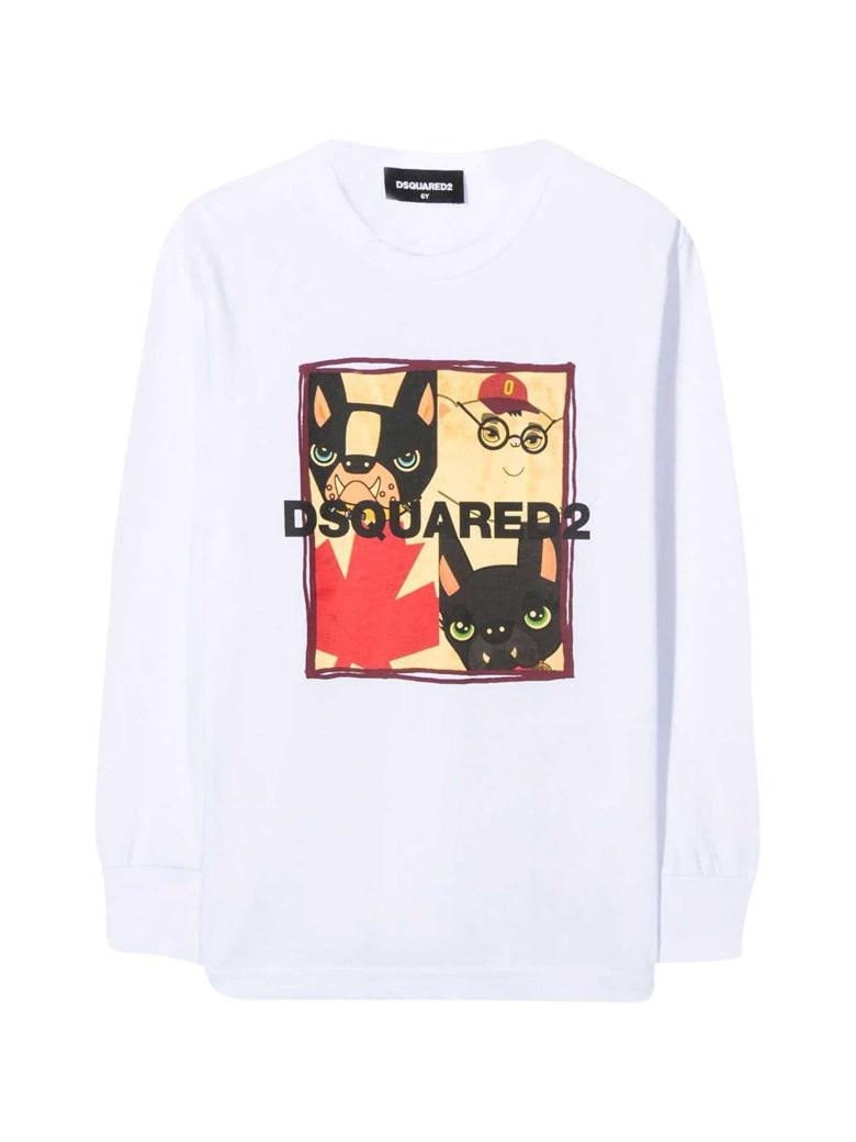 Dsquared2 White T-shirt - Bianco