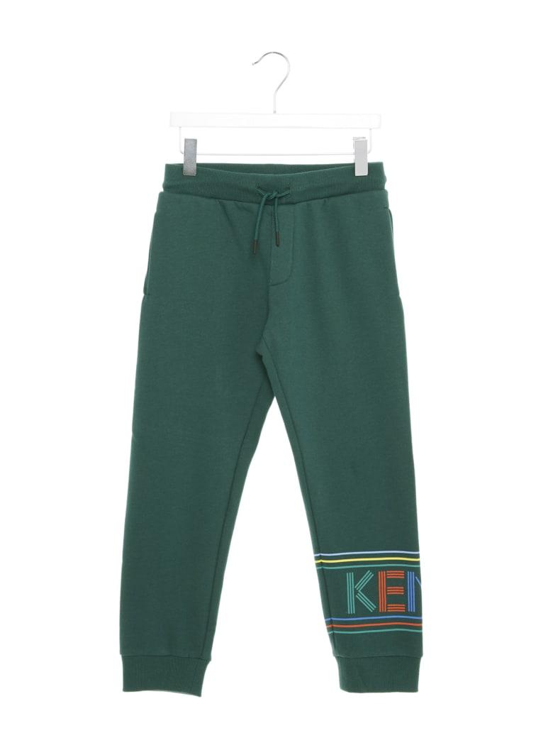 Kenzo Kids 'sport Line Jb' Sweatpants - Green