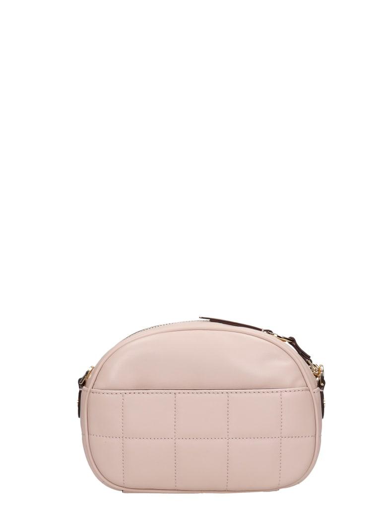 Michael Kors Shoulder Bag In Rose-pink Leather - Rosa