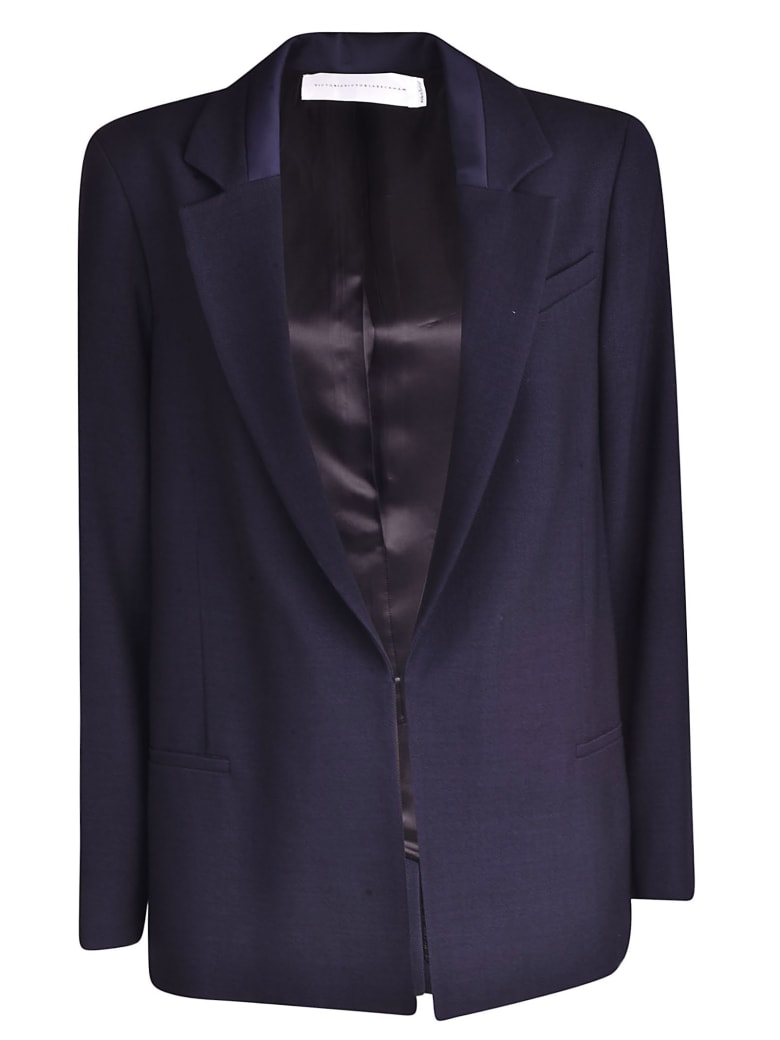 Victoria Beckham Blend Midnight Classic Blazer - MIDNIGHT