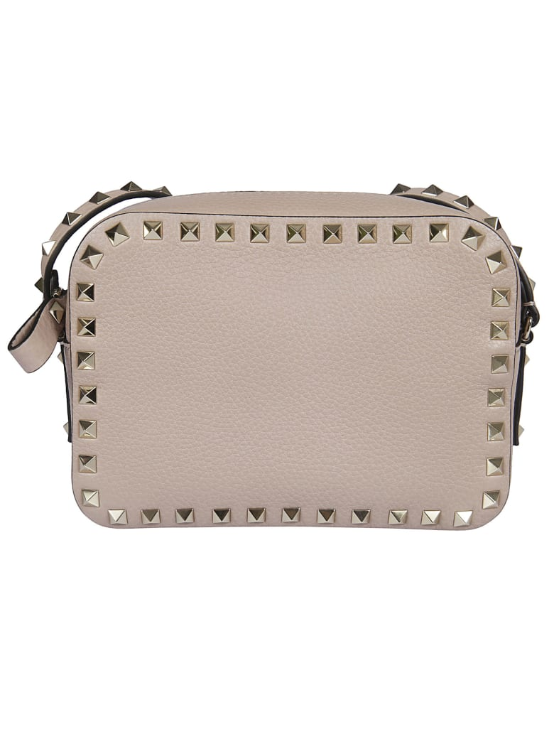Valentino Studded Crossbody Bag - Poudre