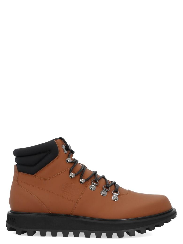 Dolce & Gabbana 'vulcano' Shoes - Brown