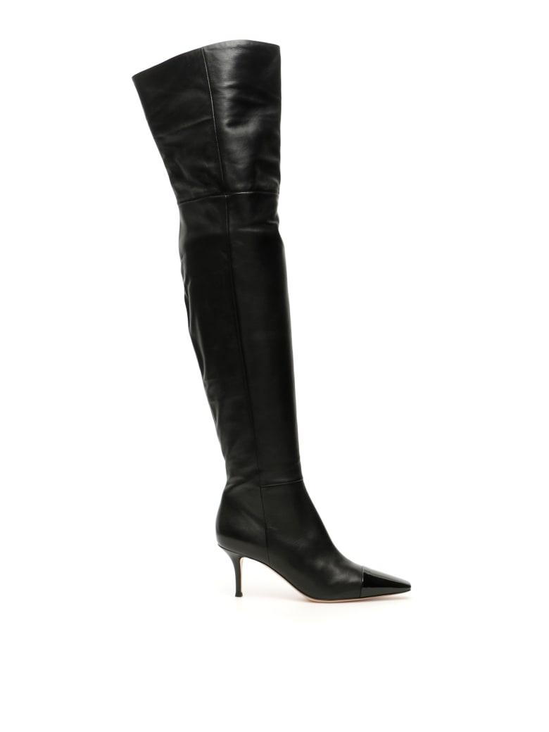 Gianvito Rossi Over-the-knee Stefanie Boots - BLACK BLACK (Black)