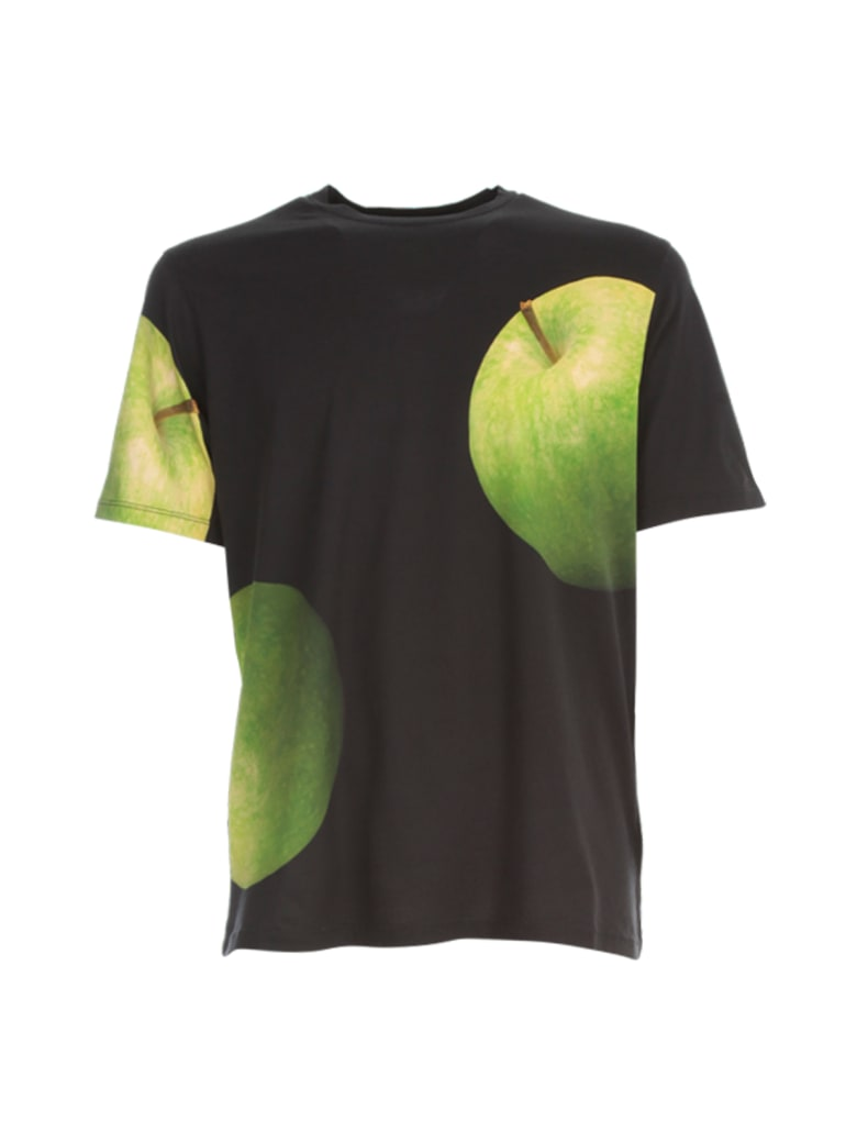 Paul Smith T-shirt 50th Apple Print - Green