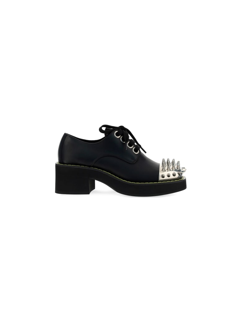 Miu Miu Lace Up Shoes - Nero