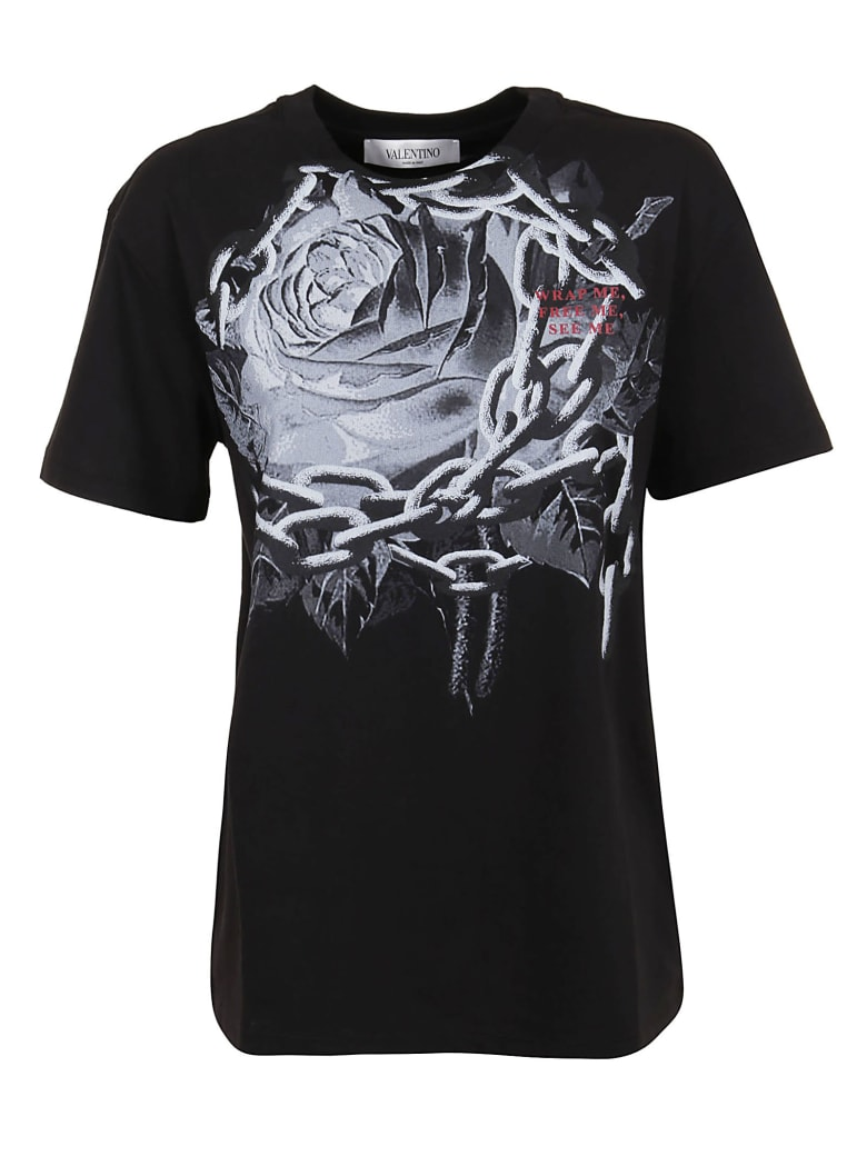 Valentino T-shirt - Nero Grigio