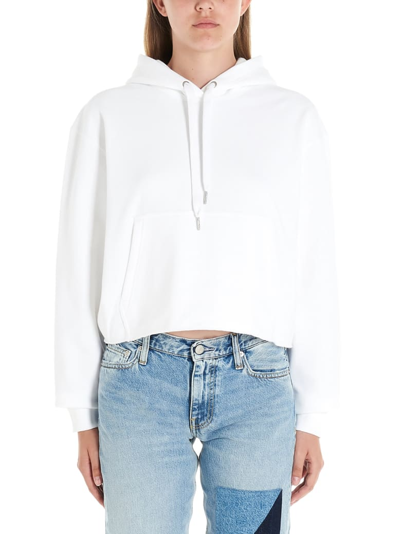 Calvin Klein Jeans Hoodie - White