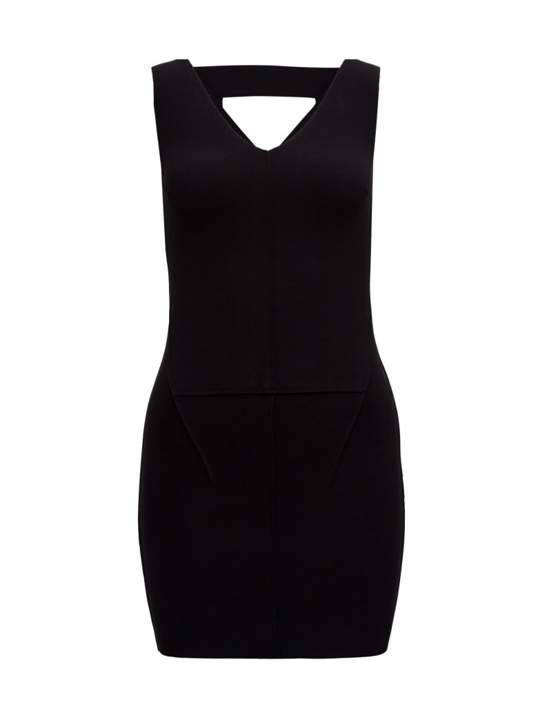 Rick Owens Top With Cuto Out Detail - Black