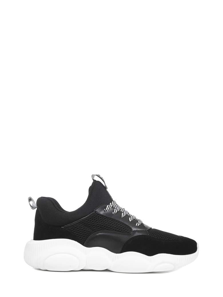 Moschino Teddy Sneakers - Black