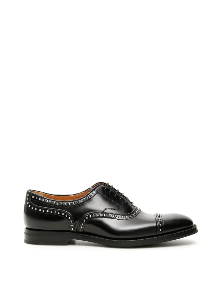 Church's Studded Anna Lace-ups - BLACK (Black)