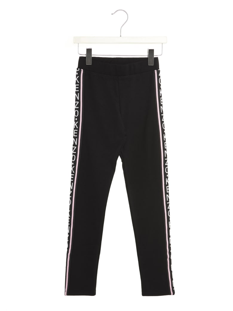 Kenzo Kids 'goldie' Leggings - Black