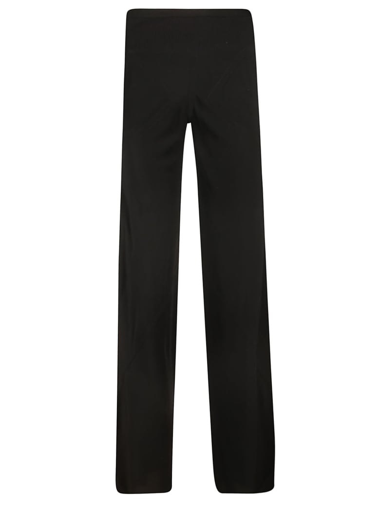 Rick Owens Loose Fit Trousers - black