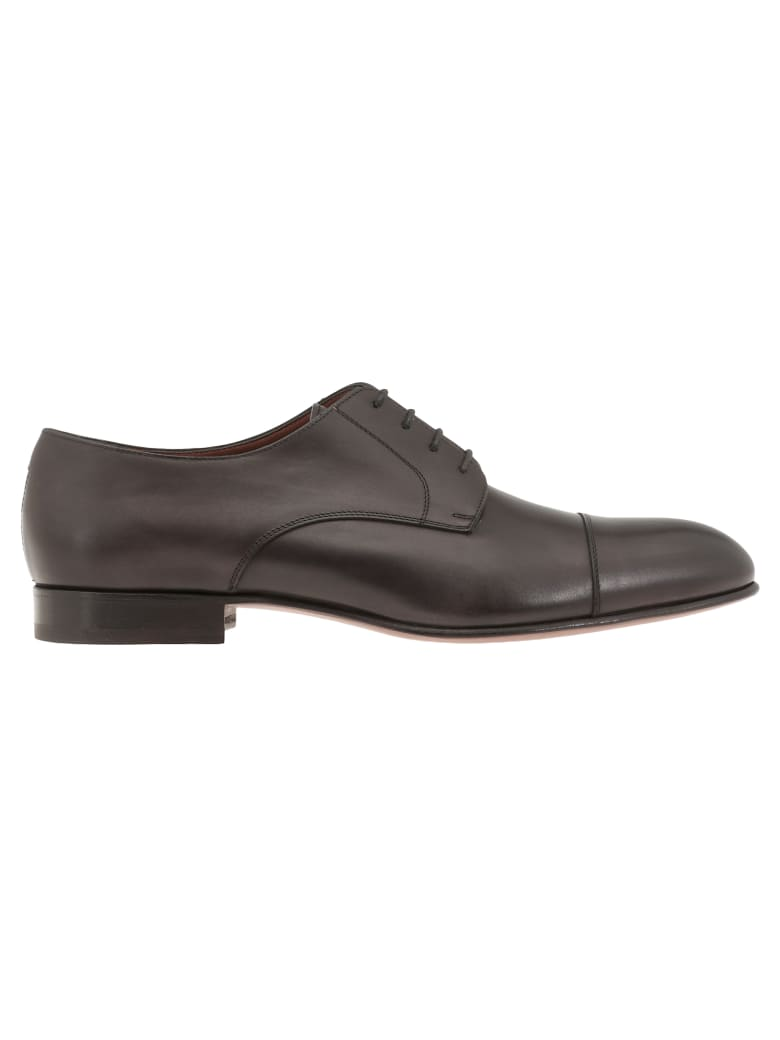 Fratelli Rossetti Manchester Lace Up Shoe - BLACK