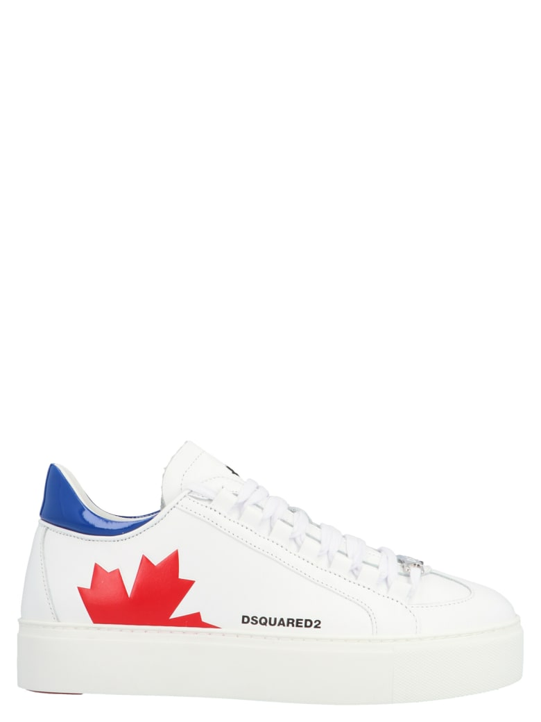 Dsquared2 'team' Shoes - White