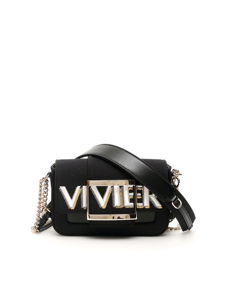 Roger Vivier Call Me Tres Vivier Micro Bag - Nero