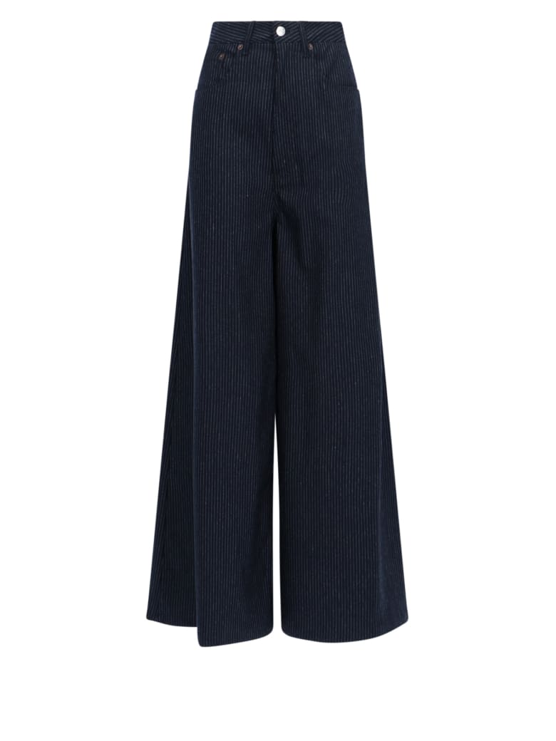 MM6 Maison Margiela Trousers - Blu