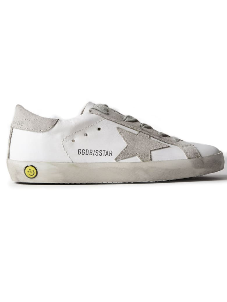 Golden Goose Superstar Sneakers - White Leather