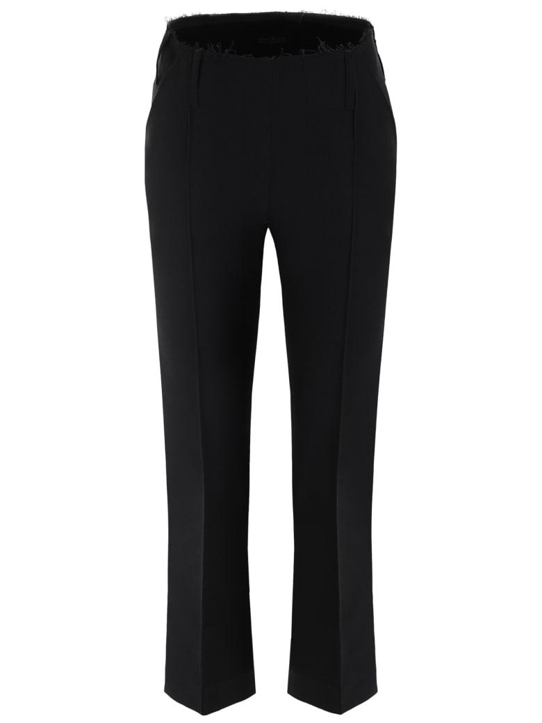 Rokh Cropped Trousers - BLACK (Black)