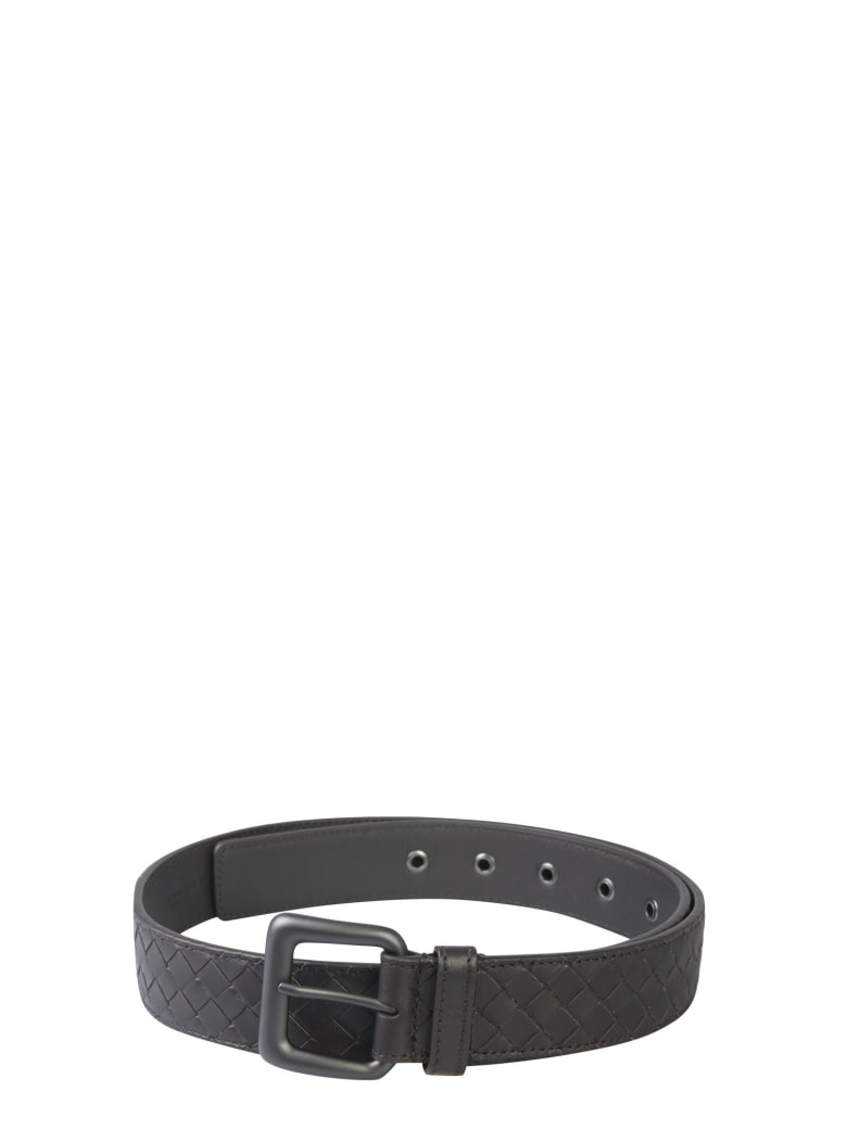 Bottega Veneta Leather Belt - MARRONE