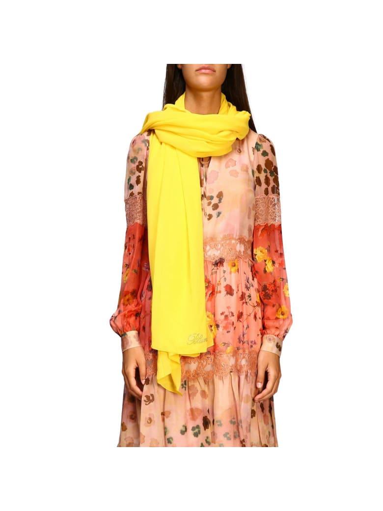 Blumarine Neck Scarf Neck Scarf Women Blumarine - yellow