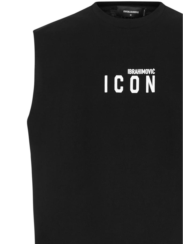 Dsquared2 X Ibra Icon T-shirt - Black