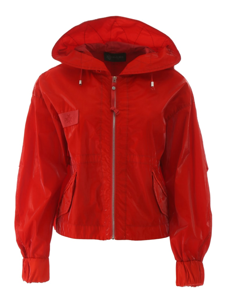 Mr & Mrs Italy Short Parka - FLAME (Red)