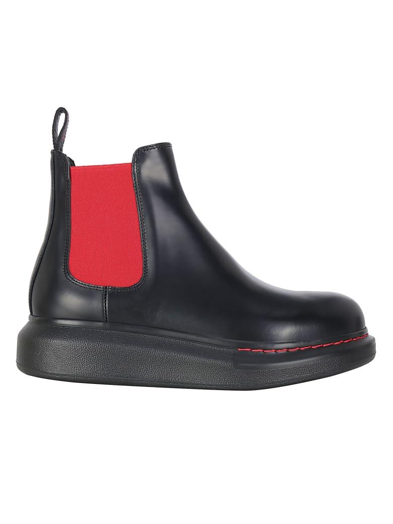 Alexander McQueen Boots - Black/red/black
