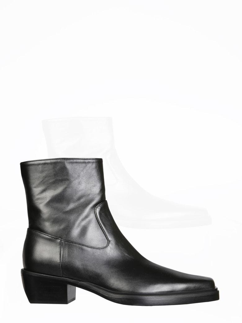 GIA COUTURE Texan Boots - NERO
