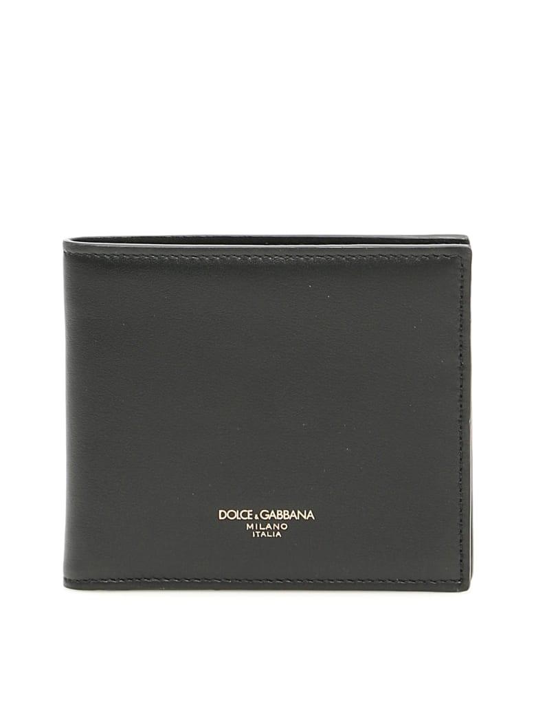 Dolce & Gabbana Leather Bifold Wallet - Nero