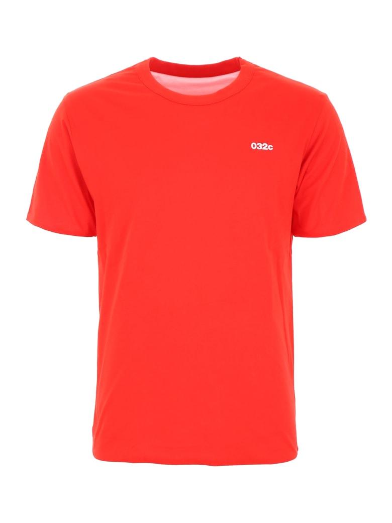 032c Reversible Logo T-shirt - RED (Red)