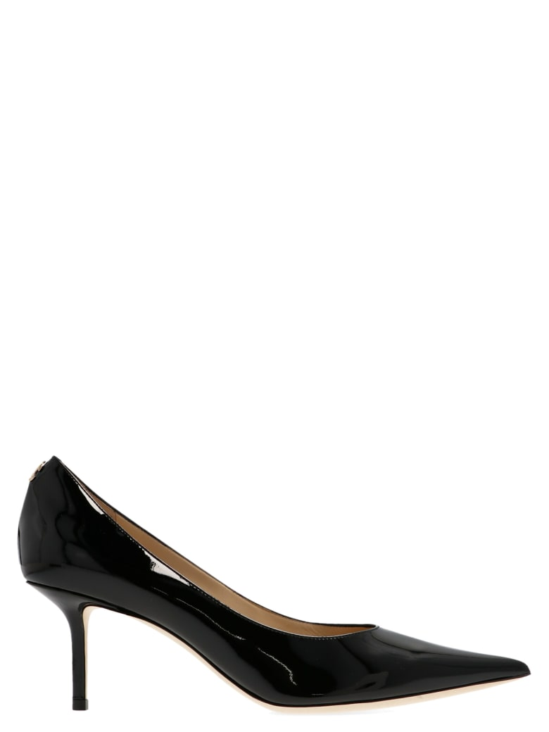 Jimmy Choo 'love' Shoes - Black
