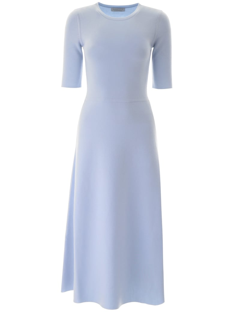 Gabriela Hearst Seymore Midi Dress - LIGHT BLUE LIGHT BLUE (Light blue)