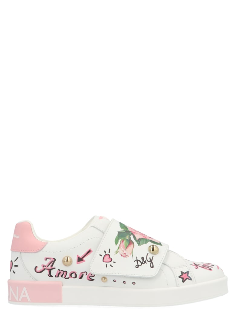 Dolce & Gabbana 'tropical Rose' Shoes - Multicolor