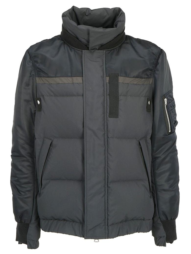 Sacai Twill Down Jacket - Black