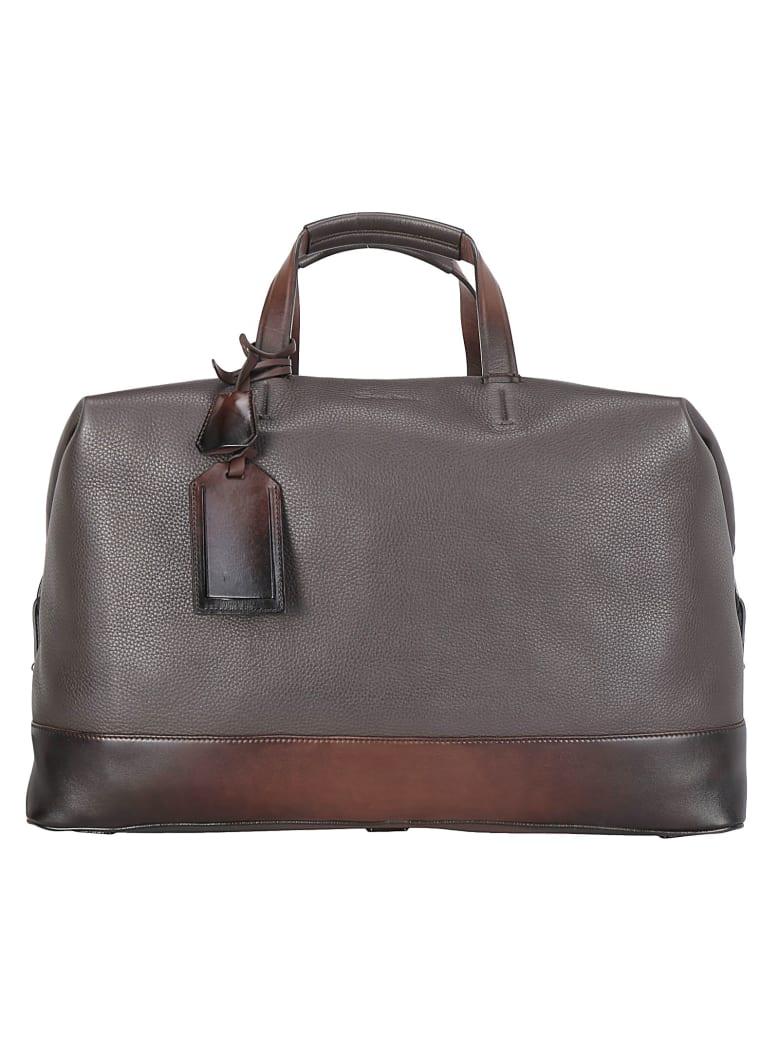 Santoni Travel Bag - Brown