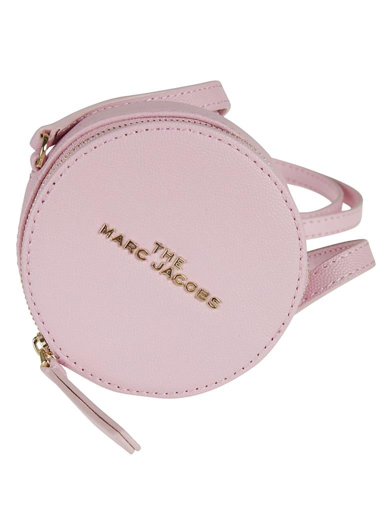 Marc Jacobs Zip-around Logo Plaque Shoulder Bag - Pink