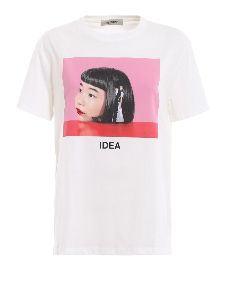 Valentino Printed T-shirt - Bo Bianco