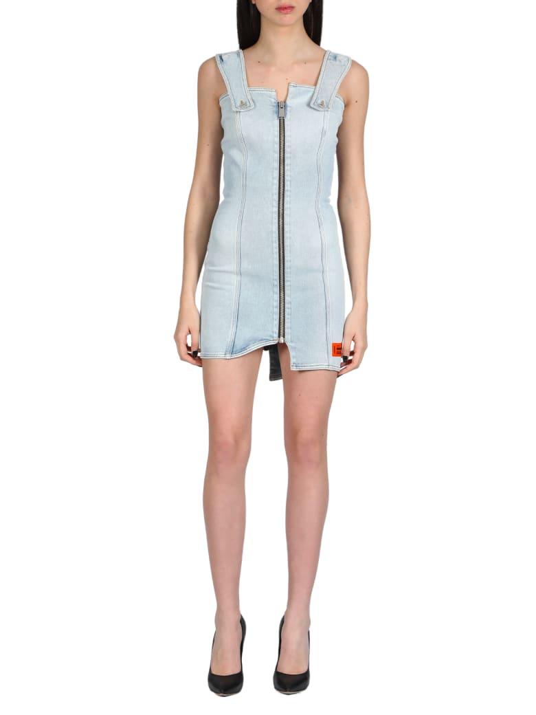 HERON PRESTON Denim Zip Dress - Vintage