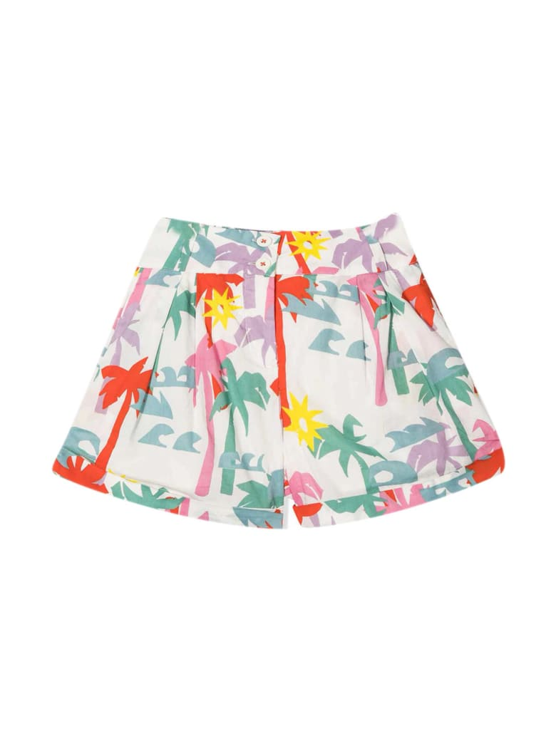 Stella McCartney White Shorts - Multicolore