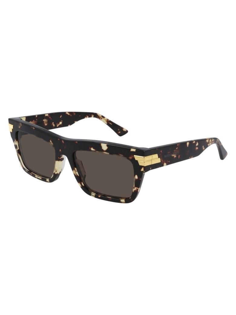 Bottega Veneta BV1058S Sunglasses - Havana Havana Brown