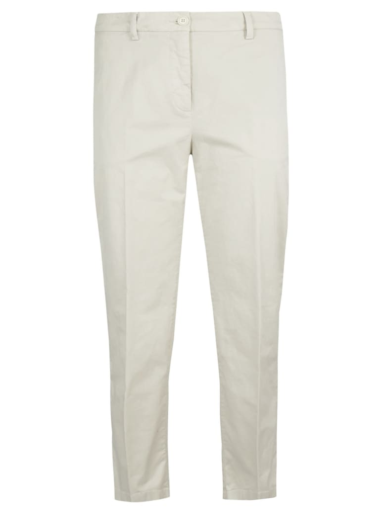 Aspesi Slim-fit Trousers - White