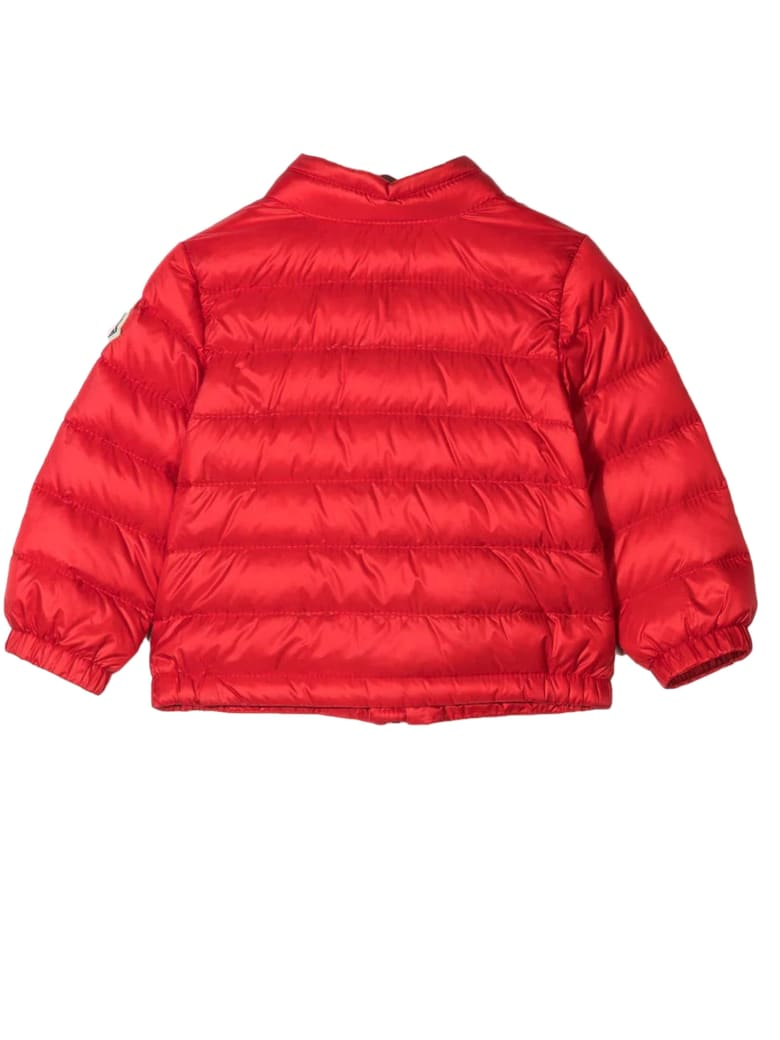 Moncler Red Puffer Jacket - Rosso