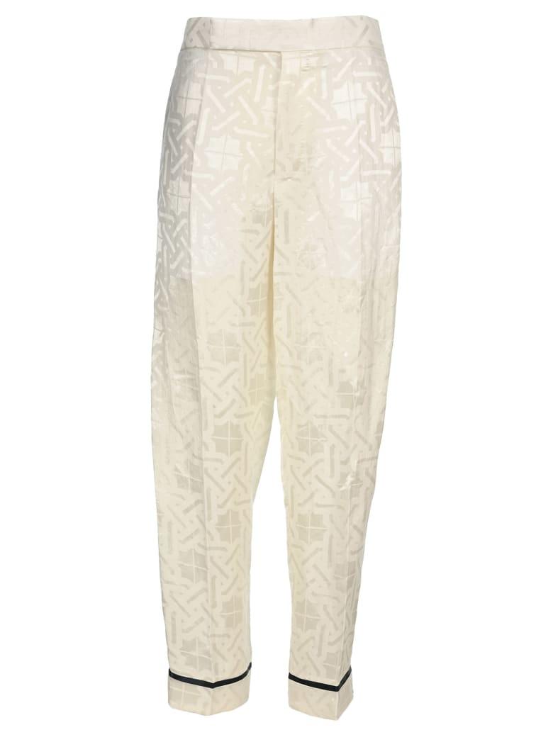 Haider Ackermann High Rise Trousers - WHITE