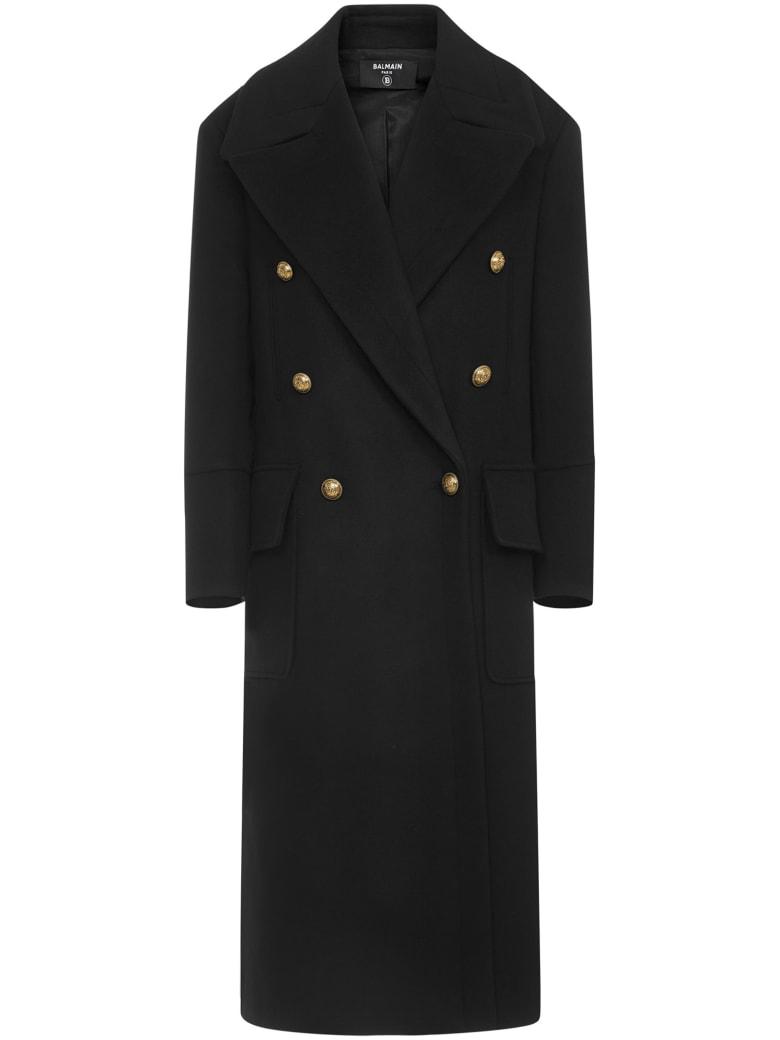 Balmain Paris Coat - Black